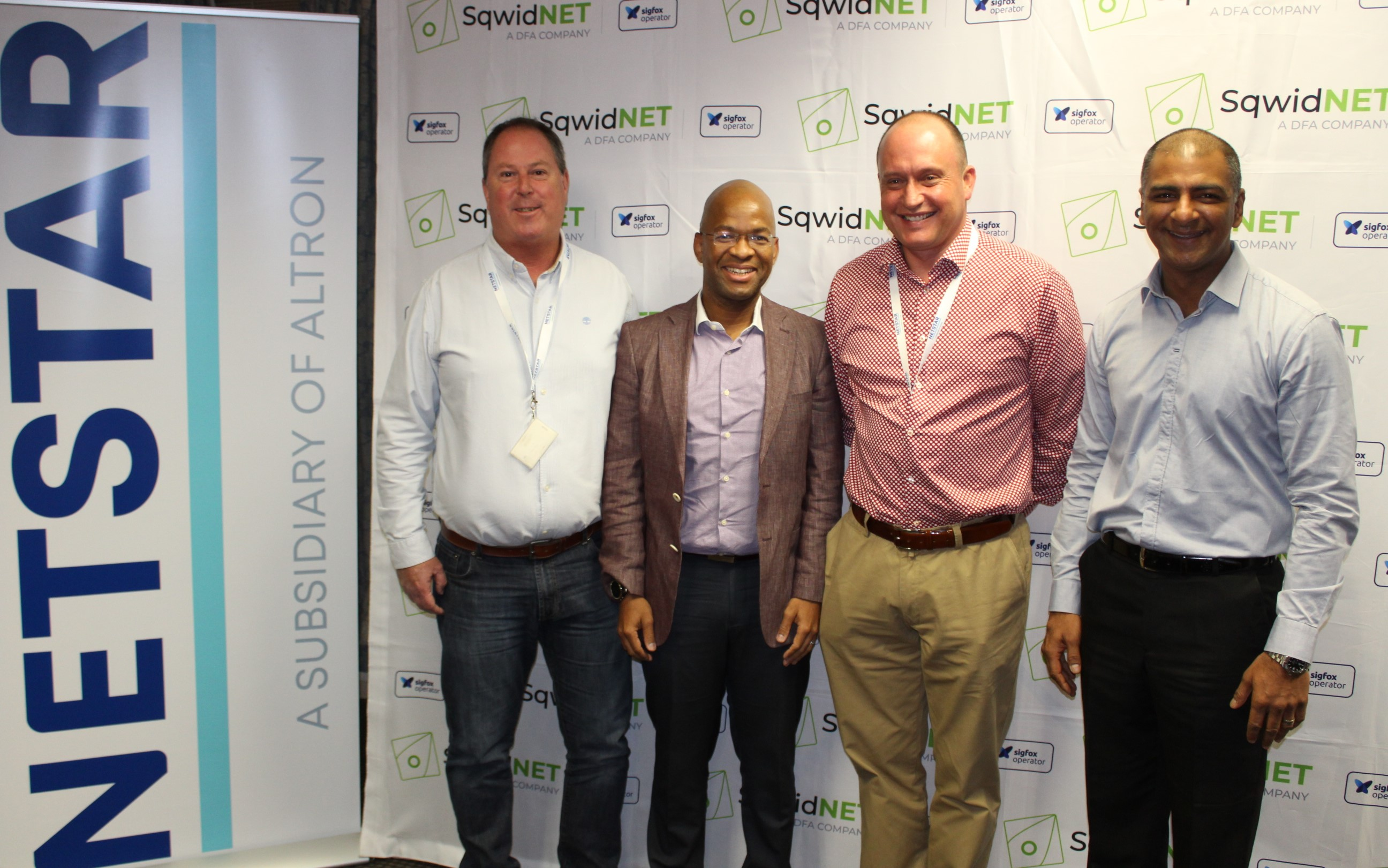 SqwidNet and Altron's Netstar sign partnership agreement